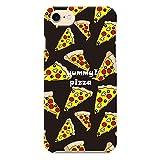 ヴァルバロッサ [iPhone7専用 ハードケース カバー]pizza:ブラック