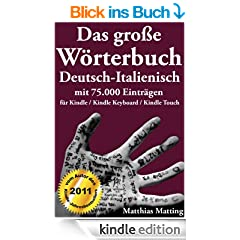 Das gro�e W�rterbuch Deutsch-Italienisch mit 75.000 Eintr�gen