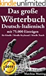 Das gro�e W�rterbuch Deutsch-Italieni...