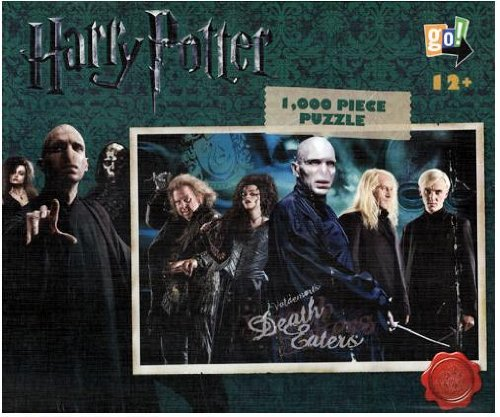 "Cheap Go! Games Harry Potter 1,000 Piece ""Death Eaters"" Jigsaw Puzzle (B004ZGYRXQ)"
