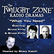 What You Need: The Twilight Zone Radio Dramas | [Lewis Padgett, Rod Serling]