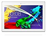 Lenovo Tab 2 (A10-30F) 25,6 cm (10,1 Zoll HD) Tablet-PC (Qualcomm MSM8909 Quad-Core Prozessor, 1GB RAM, 16GB eMMC, Touchscreen, Android 5.1) pearl white