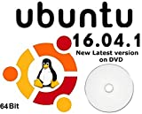 Ubuntu Linux 16.04.01 Full Operating System & Software DVD Disc - 64 Bit LATEST VERSION! Reinstall Install Computer Laptop