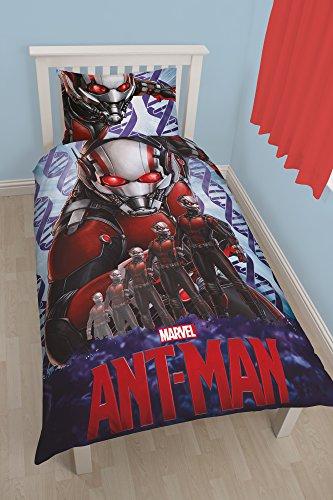 """Carattere mondo Disney Marvel Ant Man letto singolo set di """"Atom"""", multicolore, colore"""