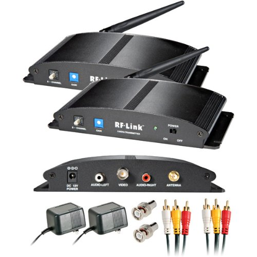 New-5.8GHz Wireless 8-Channel Indoor Audio/Video System - T42809