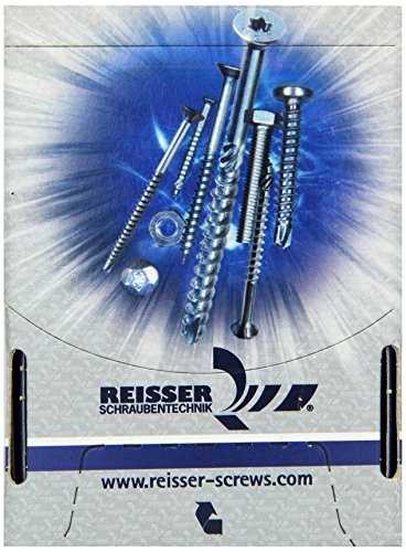 Reiser, Vite a testa piatta 80 x 100 cm, confezione 25 TKS, zincata, 48362/9HP