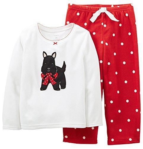Carters Baby Girls Scottie Dog Micro-Fleece Set front-911578