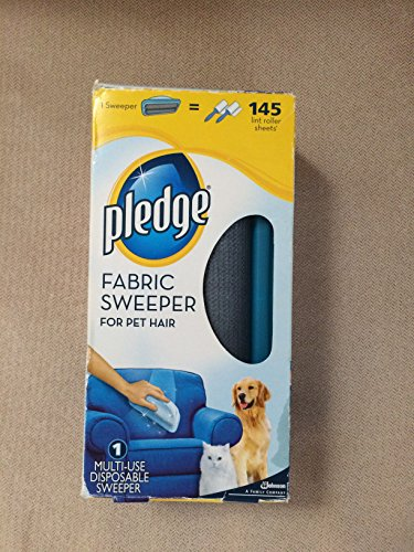 Pledge Fabric Sweeper for Pet Hair, 1 sweeper (Dog Sweeper compare prices)
