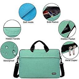 Kitron-Denim Fabric 15-15.6 Inches Inch Laptop/Notebook Computer/MacBook/ MacBook Pro/MacBook Air Sleeve Briefcase Laptop Shockproof WaterResistant Case Computer Shoulder Bag