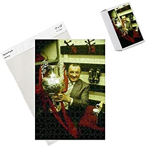 Photo Jigsaw Puzzle of 1977 Bob Paisley, League trophy a the Boot Room from Liverpool FC Pictures by Liverpool FC Pictures
