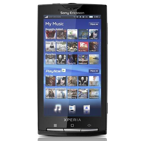 Sony Ericsson Xperia X10 Android (Sensuous Black) Sim Free / Unlocked