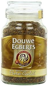 Douwe Egberts Pure Gold Instant Coffee, Medium Roast from Douwe Egberts