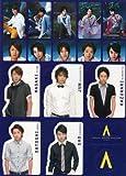 嵐 公式グッズ 2008 「AROUND ASIA in TOKYO」 ステッカー ARASHI.