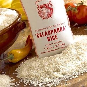 Amazon.com : La Tienda Peregrino Brand Calasparra Paella Rice (2.2 lb