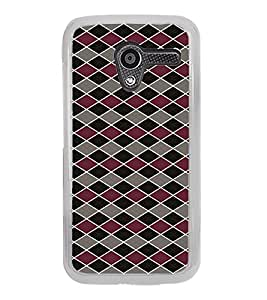 ifasho Animated Pattern of Chevron Arrows royal style Back Case Cover for Moto X