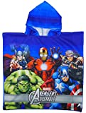 Boy's Marvel AVENGERS Thor Hulk Captain America Beach Towel Poncho One Size 5-12 Years