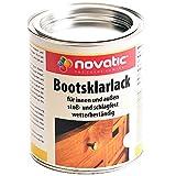 Novatic Bootsklarlack transparent glänzend & seidenglänzend 375ml - 2