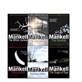 Henning Mankell Henning Mankell Wallander Mystery Collection 6 Books Set, (The Dogs of Riga, One Step Behind, The White Lioness, Sidetracked, The Pyramid and Faceless Killers)