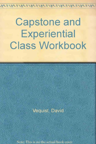 Capstone and Experiential Class Workbook