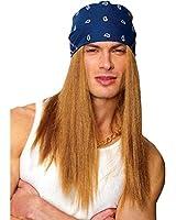 Rocker Wig with Bandana