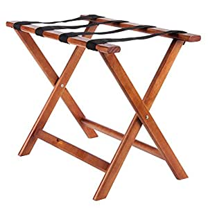 Royal Industries ROY 778 Wood Luggage Rack Luggage Rack For