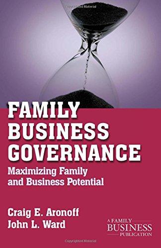 Family Business Governance: Maximizing Family and Business Potential (A Family Business Publication)