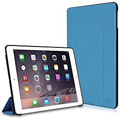 CaseCrown Omni Case (Blue) for Apple iPad Air 2 with Multi-Angle Viewing Stand (Built-in magnetic for sleep / wake feature)