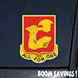 "US Army 40th Field Artillery Regiment DUI 6"" Decal Sticker"
