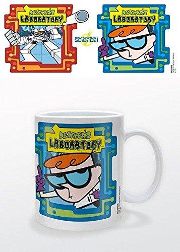 Cartoon Network - Tazza in ceramica, motivo: laboratorio di Dexter