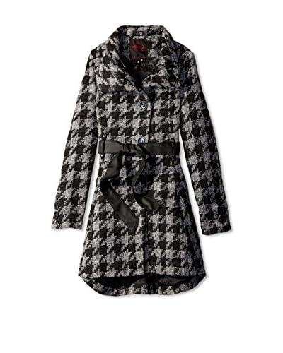 Yoki Women's Houndstooth Coat