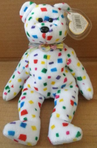 TY Beanie Babies TY 2K the Bear Plush Toy Stuffed Animal