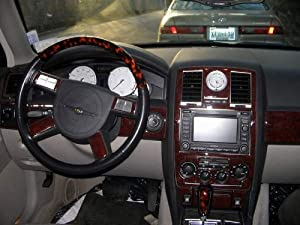 Chrysler 300 300c Hemi Touring 2005 2006 2007 Interior Wood Dash Trim Kit Set