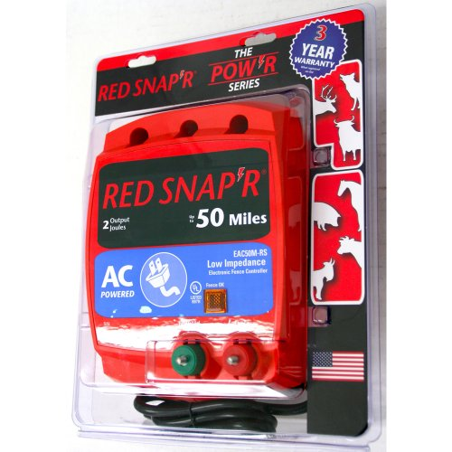 Red Snap'r EC50M-RS 50-Mile AC Low Impedence Charger image