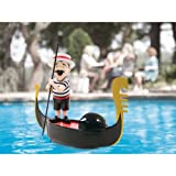 Singing Gondolier Toys Pool Outdoor Water Swimming Pond Garden Floating Floatati
