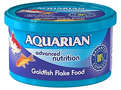 Aquarian Goldfish Flake Fish Food