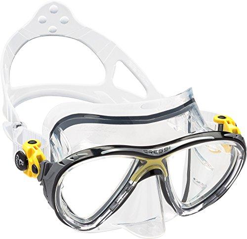 cressi-unisex-erwachsene-taucherbrille-big-eyes-evolution-gelb-ds336010