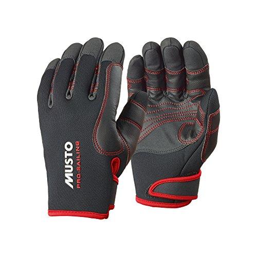 2016 Musto Performance Winter Long Finger Gloves BLACK AS0594 Sizes- - Medium