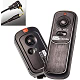 Impulsfoto - Disparador remoto para cámara Panasonic Lumix (apto para modelos DMC FZ100, DMC FZ50, DMC FZ30, DMC FZ-25, DMC FZ-20, L1, L10, LC1, G10, G2, GH2, G1, GF1, GH1)