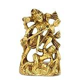 "Redbag - Lord Shiva Brass Statue (3""H X 1.75""W )"