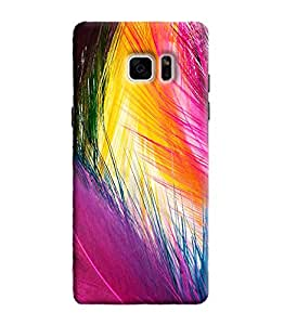 Blue Throat Printed Designer Back Cover For Samsung Galaxy Note 7