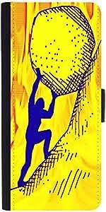 Snoogg Exam Stone Pressure Designer Protective Flip Case Cover For Sony Xperi...
