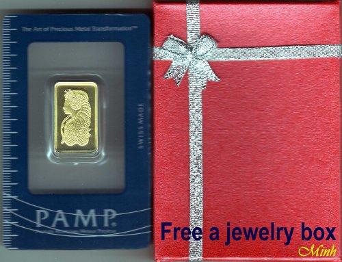 Pamp Suisse 10 Gram Gold bar - CertiCard
