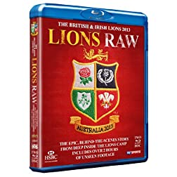 The British & Irish Lions 2013: Lions Raw (Behind The Scenes Documentary) [Blu-ray]
