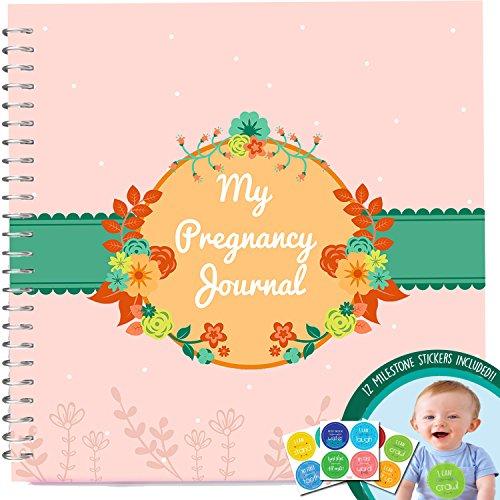 Diario della gravidanza + Adesivi-Unconditional Rosie gravidanza libro con 12Milestone Adesivi.