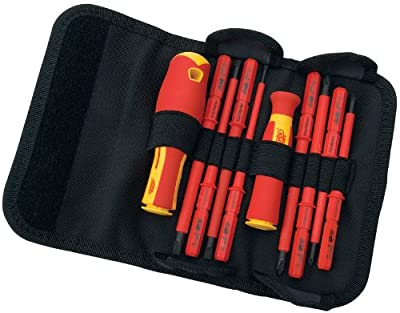 Draper 5721 Interchangeable Insulated Screwdrivers (10 Pieces)