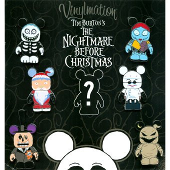 Amazon.com: Disney Vinylmation Nightmare Before Christmas Collectors ...