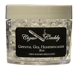 Cigar Caddy Crystal Gel Humidification Jar,2 Oz