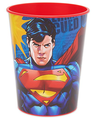American Greetings Superman Plastic Party Cup, 16 oz