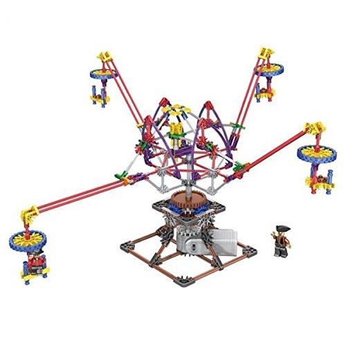 Loz-2014 320Pcs Amusement Park Series Octopus Dandelion Design Electric Building Block Intelligent Toy By Preciastore