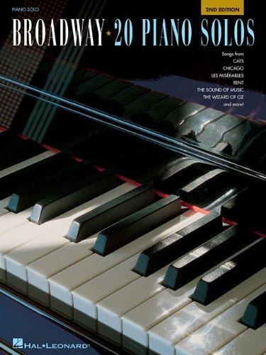 Broadway: 20 Piano Solos